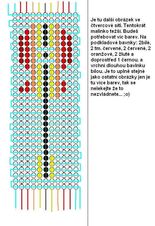 Схемы плетения из бисера фенечки с